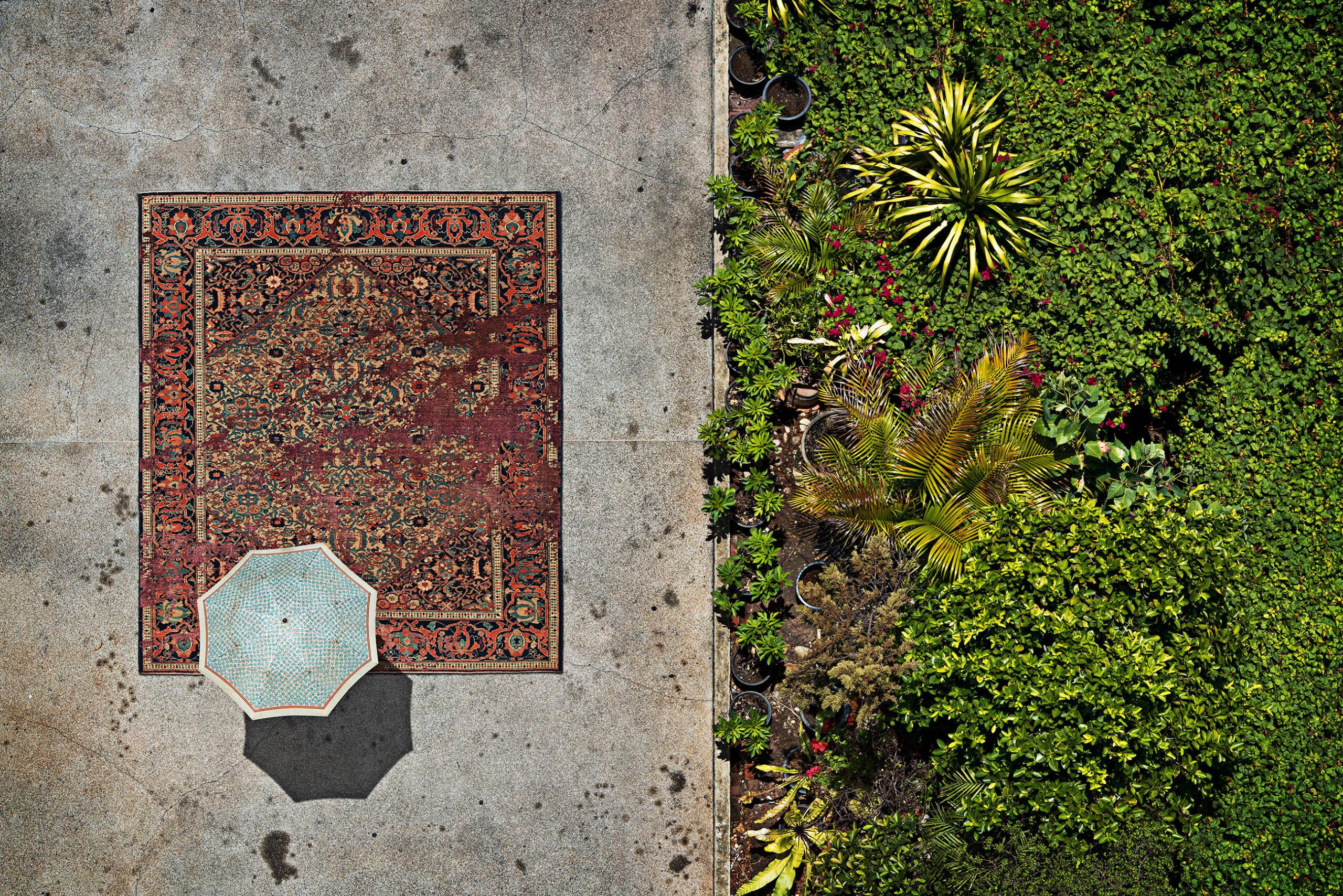 Erased Heritage Teppich-Kollektion von Jan Kath