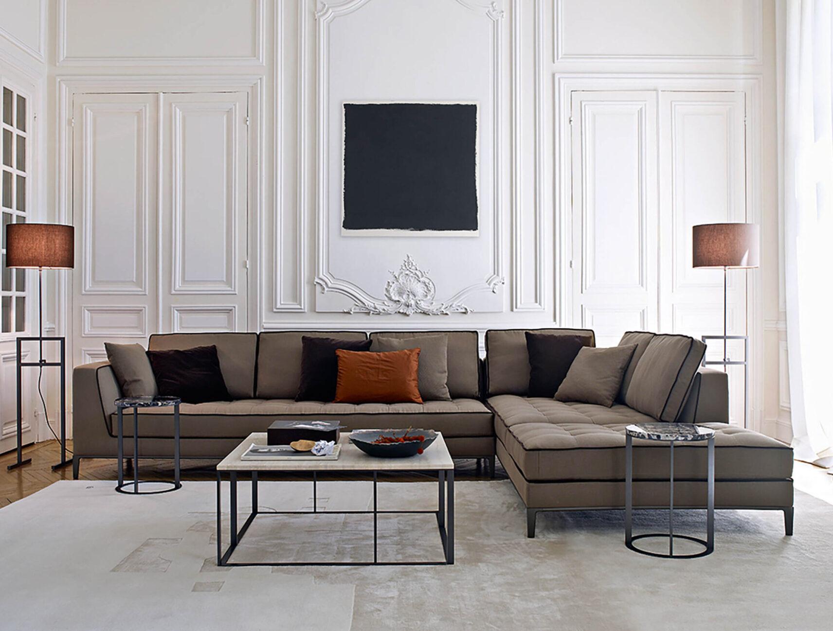 Sofa Lucrezia der Simplice Collection von Maxalto