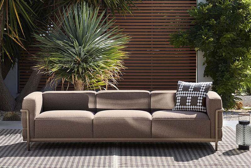 LC3 Outdoor Sofa von Cassina