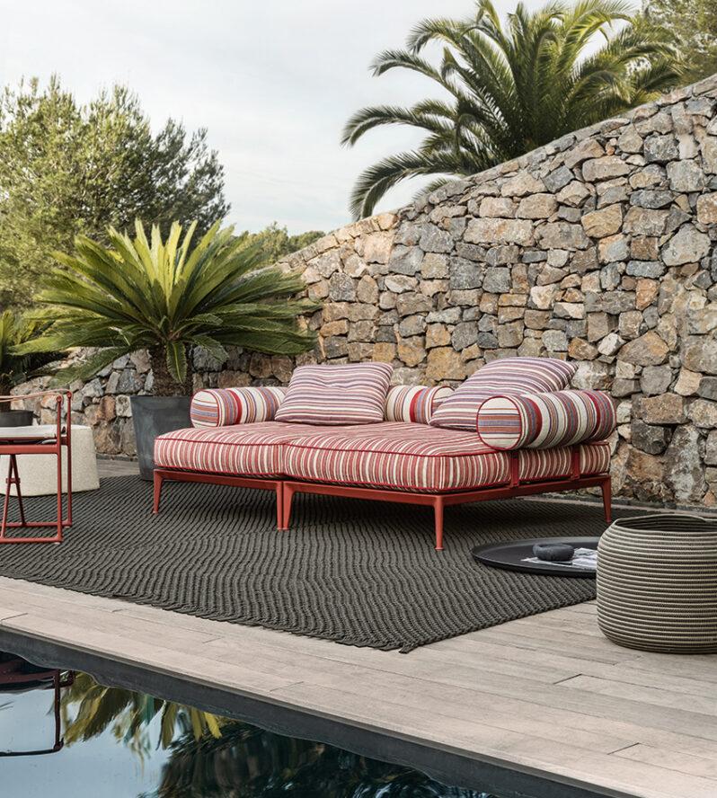 Outdoor Sofa Ribes von B&B Italia