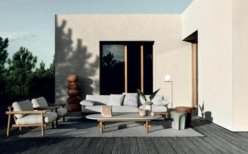 Outdoor Lounge Ayana von B&B Italia