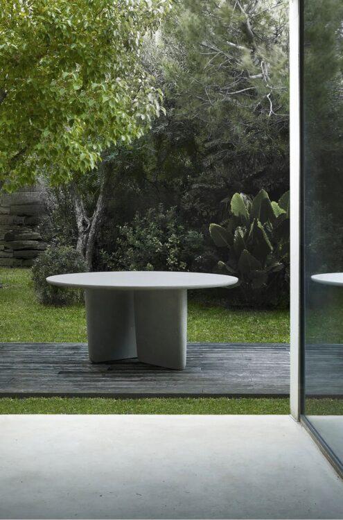 Outdoor Tisch Tobi Ishi von B&B Italia