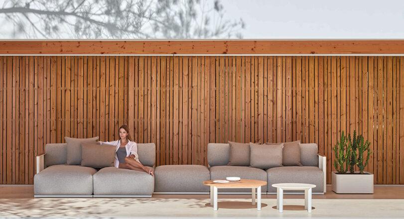 Outdoor Sofa Bosc von Gandia Blasco