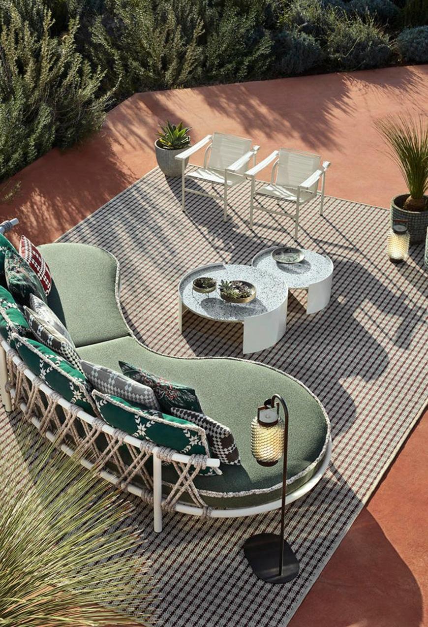 Outdoor Sofa Trampoline von Cassina