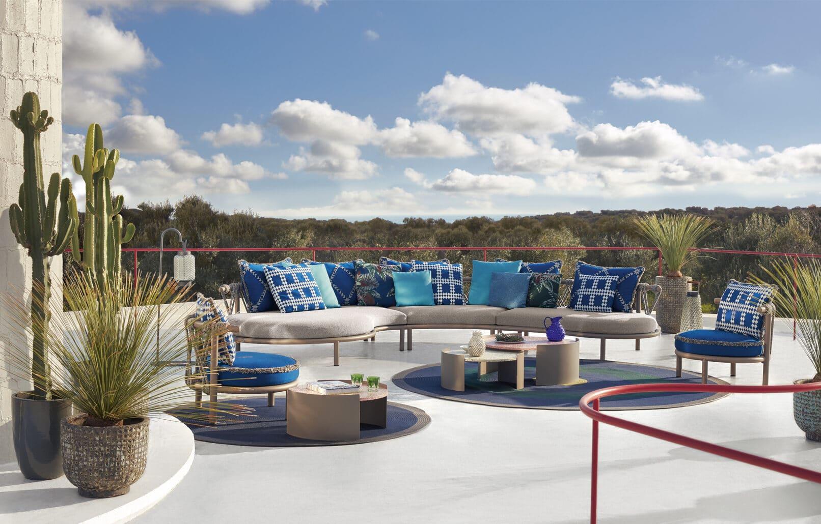 Outdoor Lounge Trampoline von Cassina