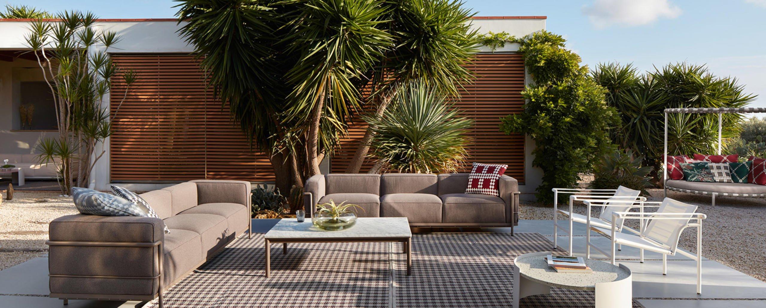 Le Corbusier Outdoor Kollektion von Cassina