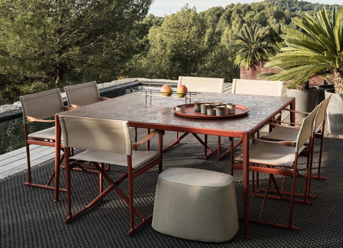 Outdoor Tisch Mirto von B&B Italia