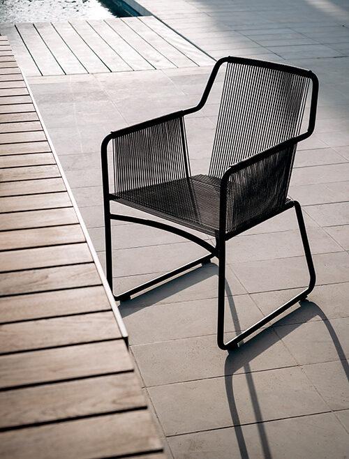 Outdoor Stuhl Harp von Roda