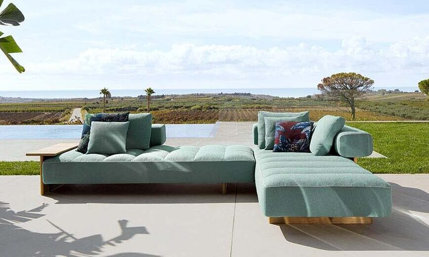 Outdoor Sofa Sail Out von Cassina