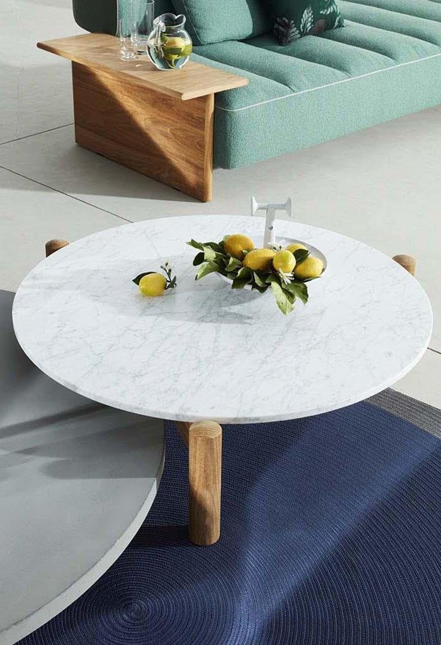 Outdoor Couchtisch Table A Plateau Interchangeable von Cassina
