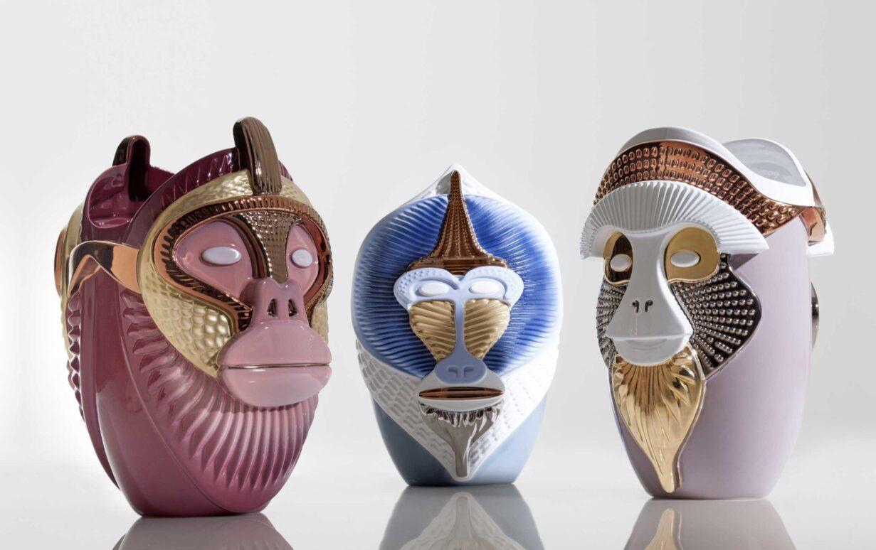 Vase Primate von Bosa Ceramiche