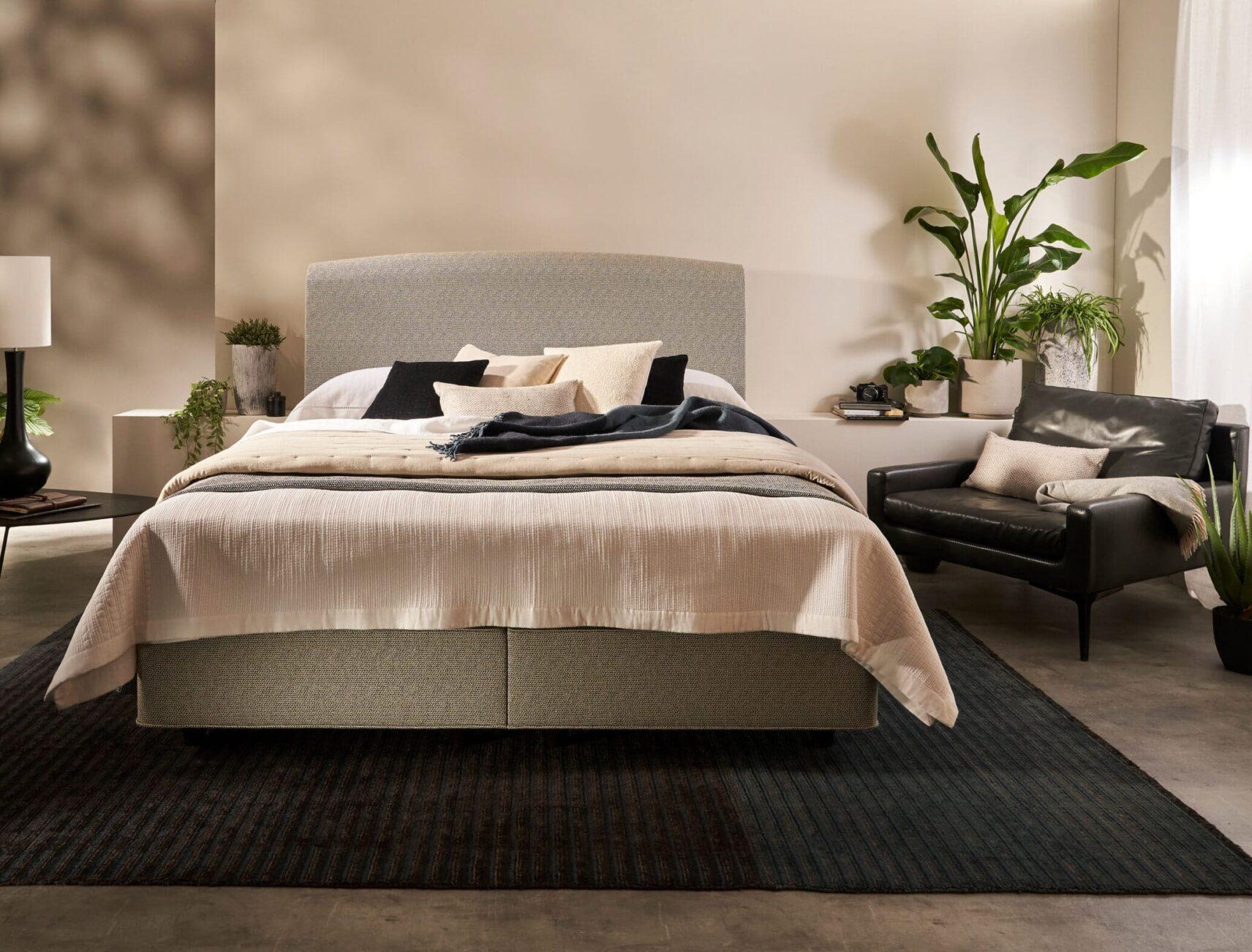 Luxusbett von Vispring